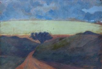 Thøger Larsen - Sommerens solnedgang